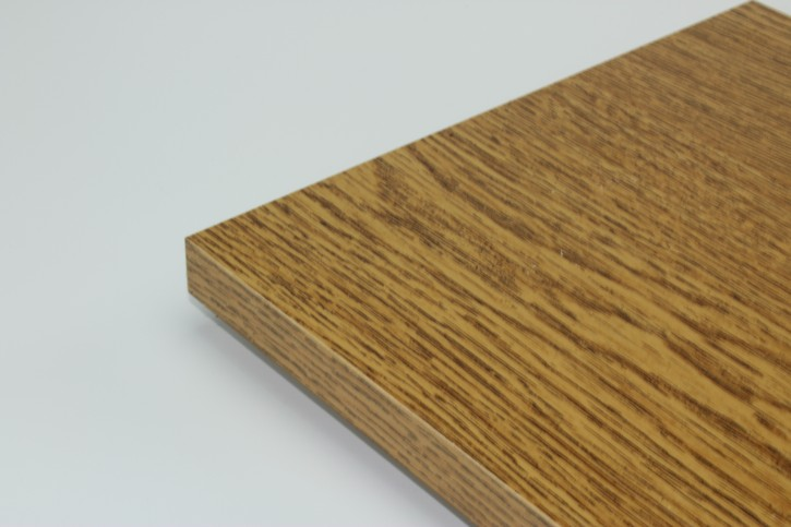 Holzboden 19mm 80x30cm Eiche-Rustikal